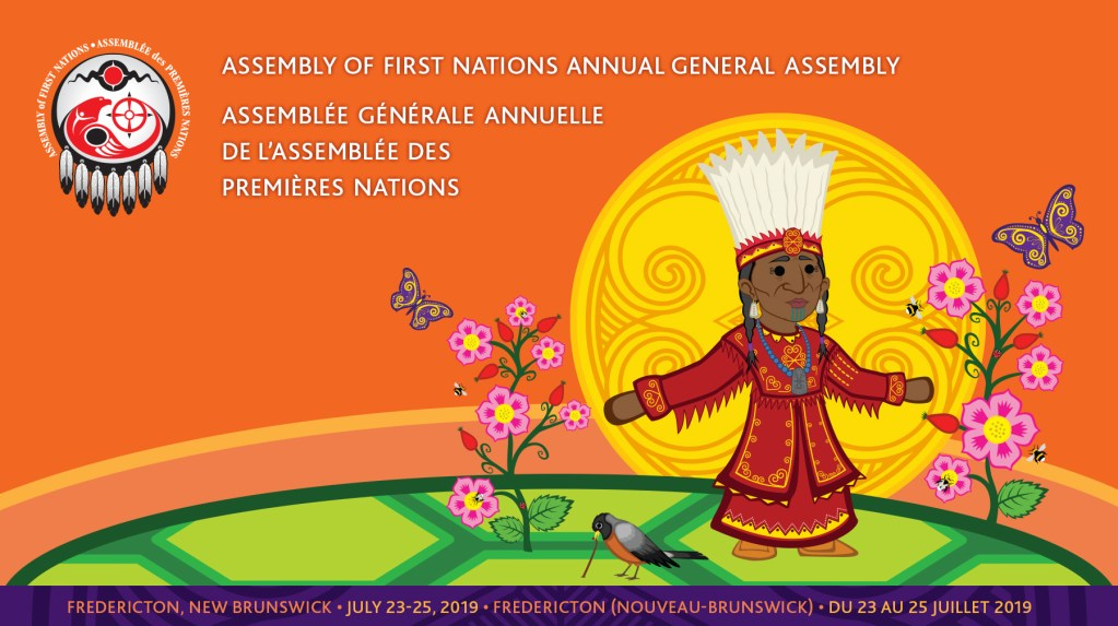 Assembly of First Nations annual general assembly banner