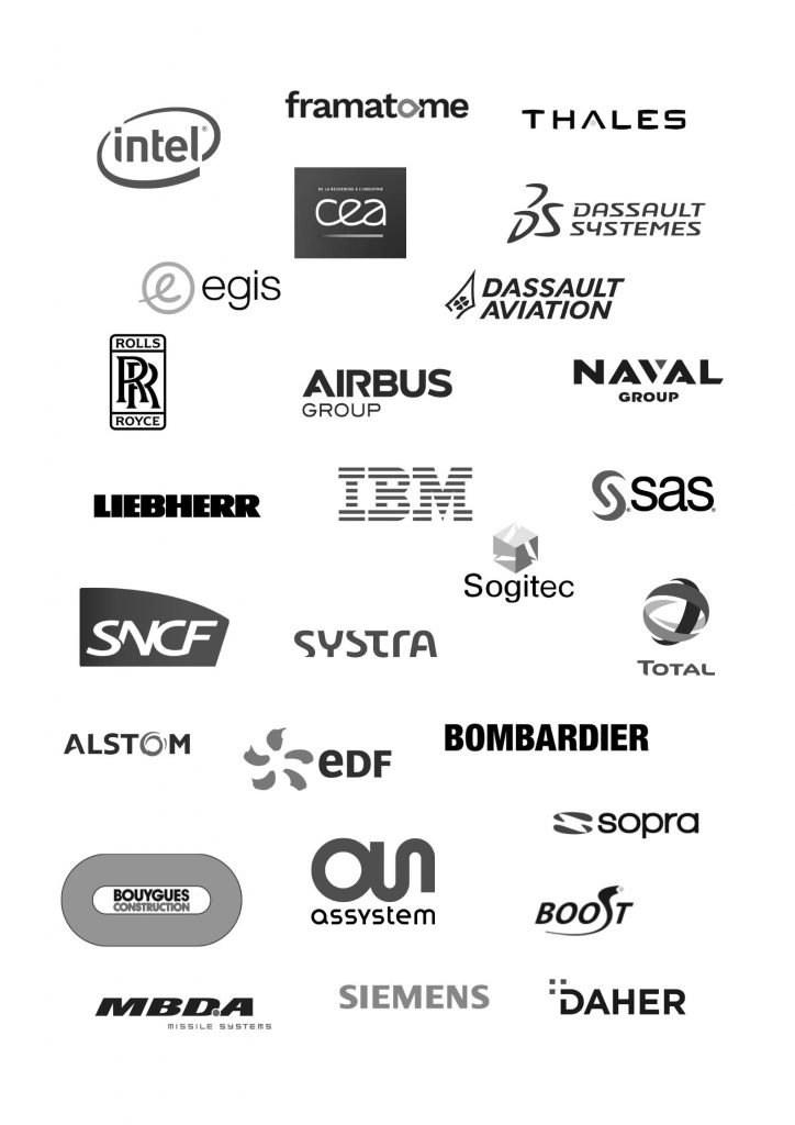 Logos des entreprises adhérentes à l'AFNeT