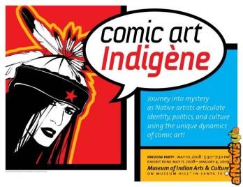 Comic Ar indigene miniposter_TBCG01 copy - afnews