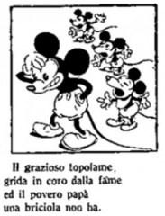 Guasta sul Popolo di Roma 1931