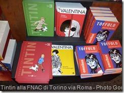Tintin alla FNAC di Torino via Roma - Photo Goria