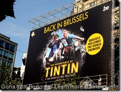 Tintin Back in Brussels