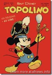 Topolino ieri 5 - primo numero  formato  libretto 1949