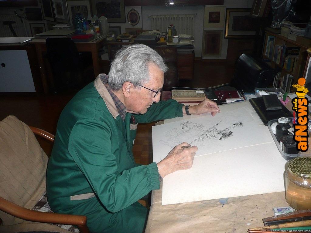 Sergio Tarquinio in una foto di Renato Rattazzi