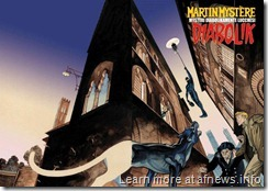 poster mostra diabolik e martin mystere