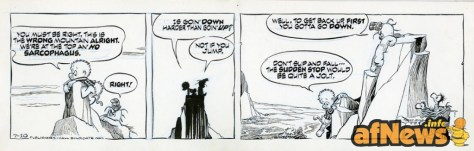 Pogo - Walt Kelly - 10 luglio 1970 - not if you jump