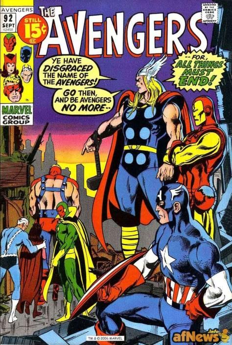 ALBO Avengers anni 70