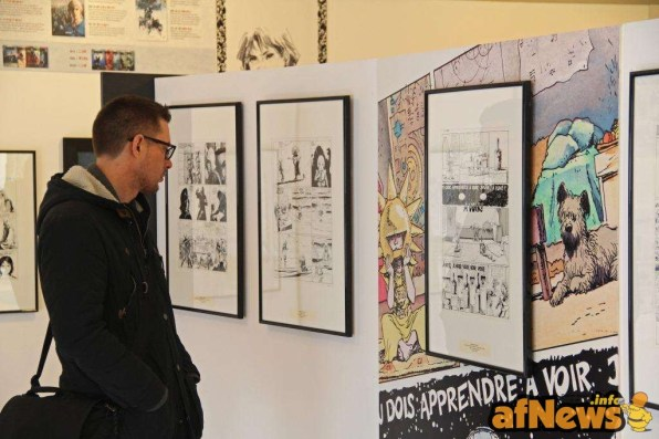 Daniel Fouss Comics Art Museum 2015 4
