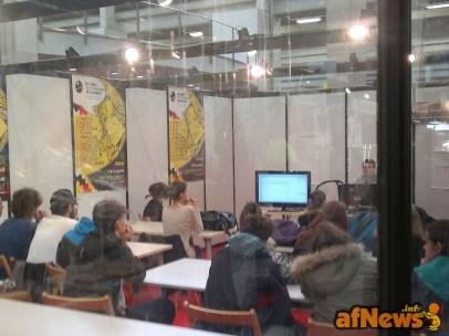039 Futuri fumettisti sui banchi di scuola - afnews