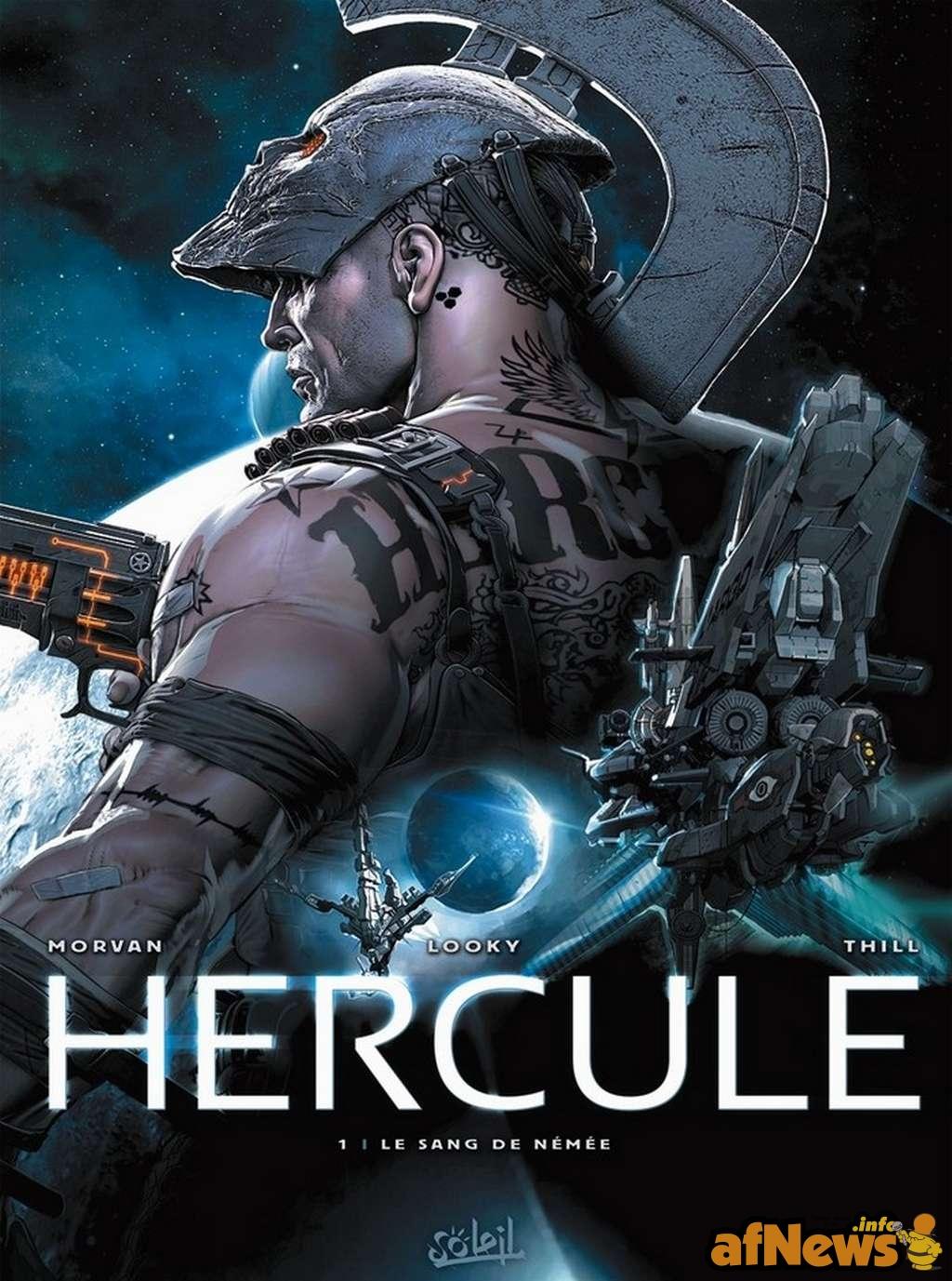 Hercule réalisé par Looky (co-fondateur de la cour des Miracles)