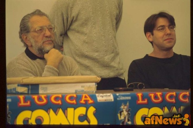 Joe e Adam Kubert - foto Gianfranco Goria