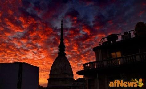 Mole Antonelliana dalla sede di afNews - foto Goria