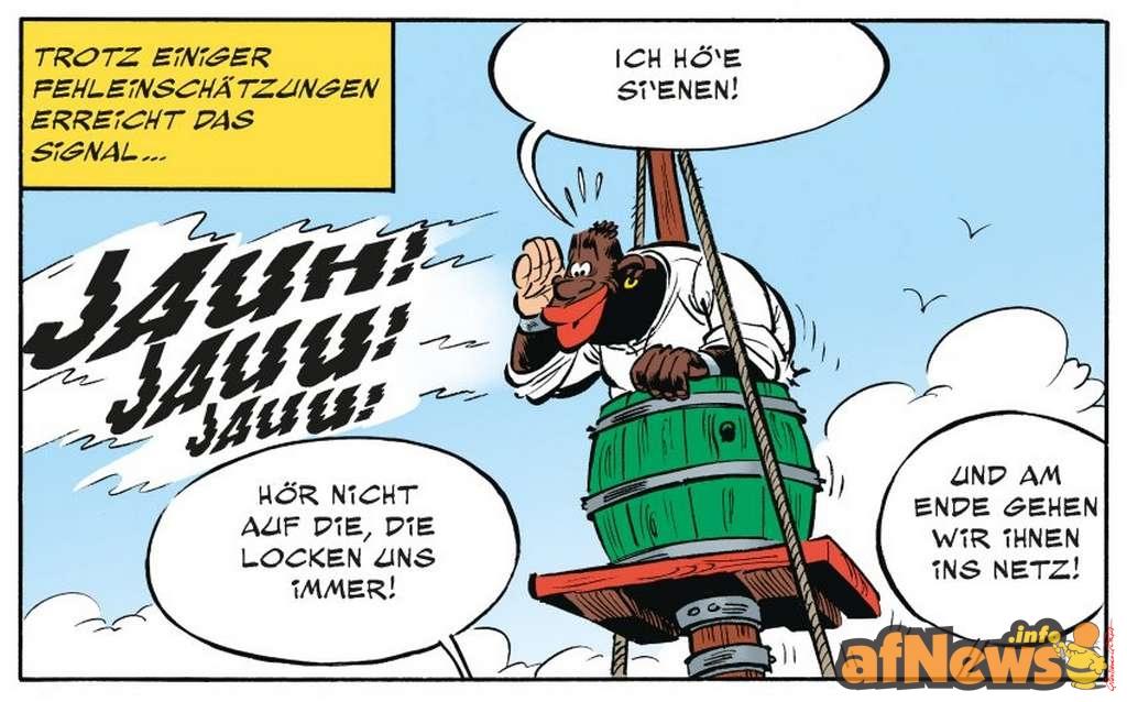 Asterix: Der Papyrus des Cäsar - il pirata africano