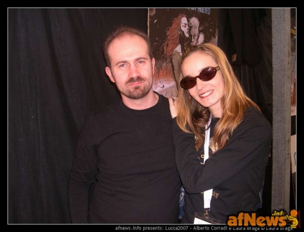 Alberto Corradi e Laura Braga-fotoBragaXafnews