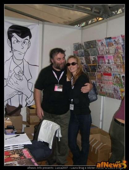 Laura Brag e Mister Hunter-fotoBragaXafnews