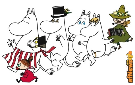 Muminfamilie_Copyright_Moomin_Characters