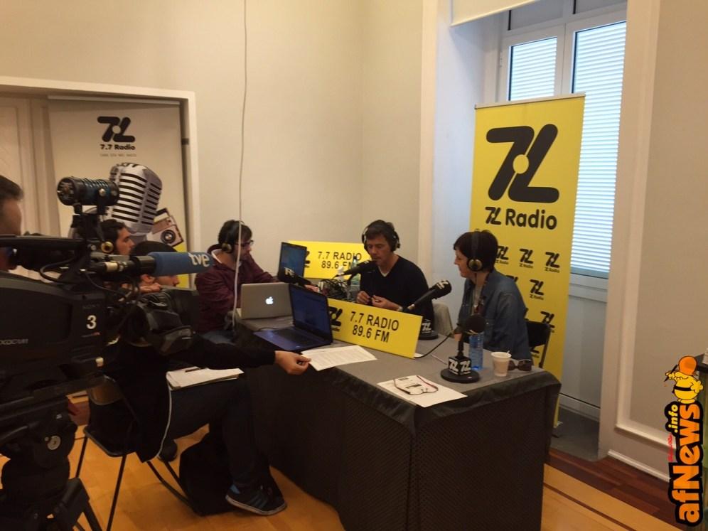 Instancabile Cinzia: intervista alla radio