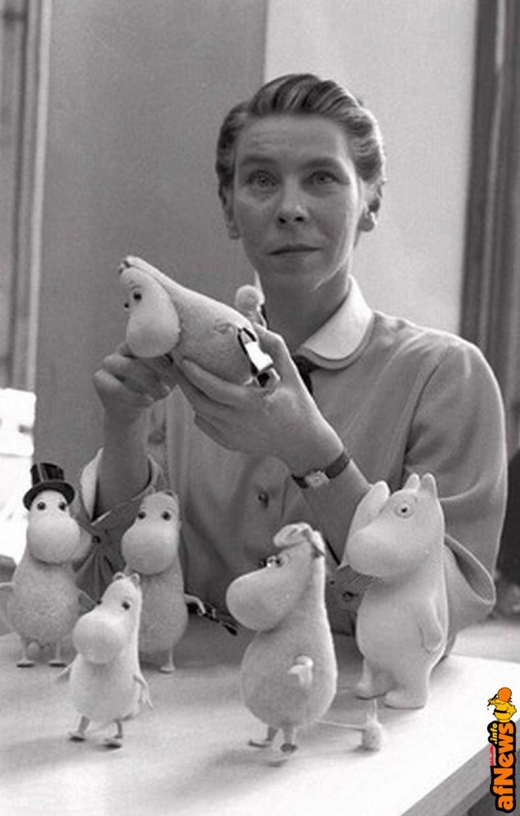 Tove Jansson nel 1956