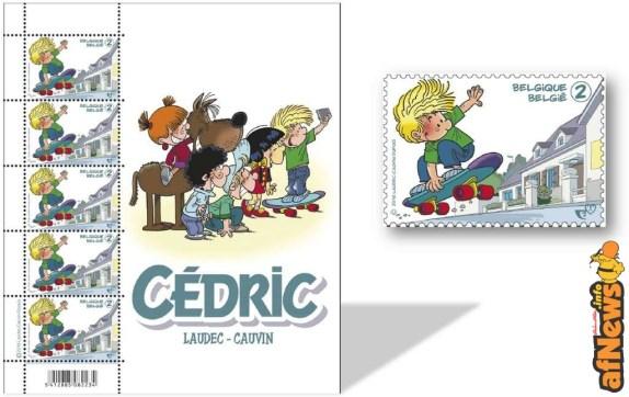 francobolli belgio cedric 2016-03-14 disegno laudec Antonio De Luca - afnews