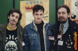 Massimiliano Frezzato, Jeff Smith, Gianfranco Goria - foto Goria 1997