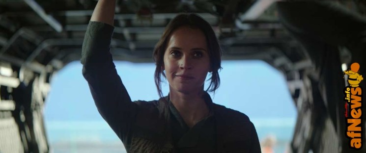 Rogue One: A Star Wars Story..Jyn Erso (Felicity Jones) ..Ph: Footage Frame..©Lucasfilm LFL 2016.