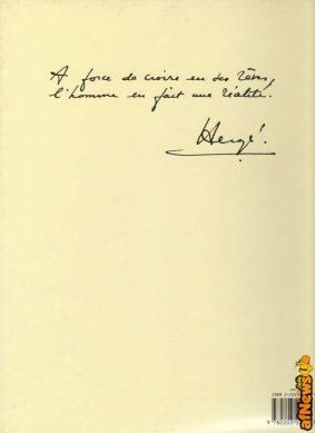 Autografia di Hergé