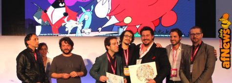 Cartoon on the Bay 2017, Pitch Me. Foto dalla premiazione