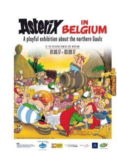Belgian Comics Art Museum exhibit Asterix in Belgium - PRESS-2-afnews