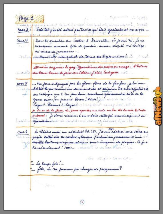 Jacobs - Esquisses et Dessins - testo-afnews