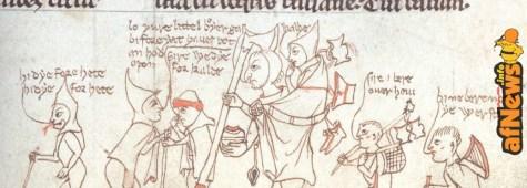 Fumetto medievale (vero) e bambini noiosi