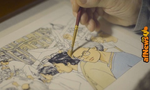 Video: Il documentario su Vittorio Giardino…