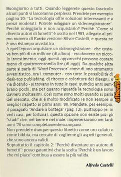 La rarissima versione Anonima Fumetti. La NUOVA (1998) prefazione di Alfredo Castelli.