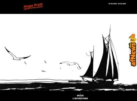 Hugo Pratt ti aspetta a Lione con Lignes d'horizons