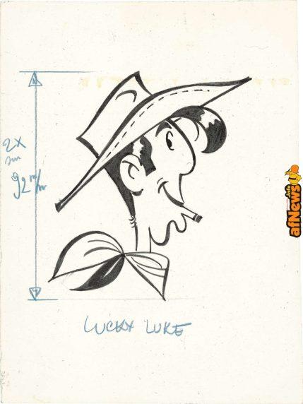 Morris Lucky Luke-afnews