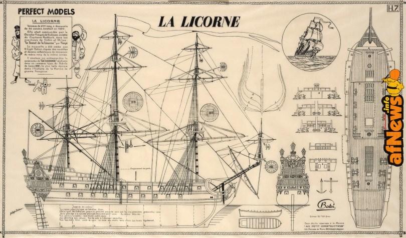 Tintin La Licorne-afnews