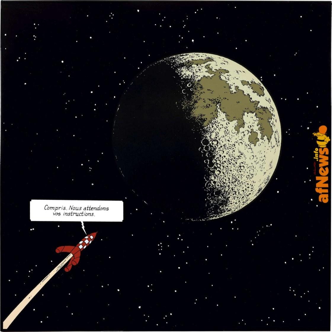 Tintin Luna 3-afnews