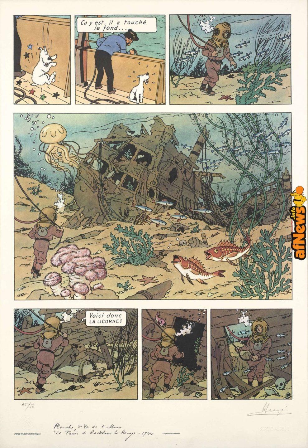 Tintin Tesoro-afnews