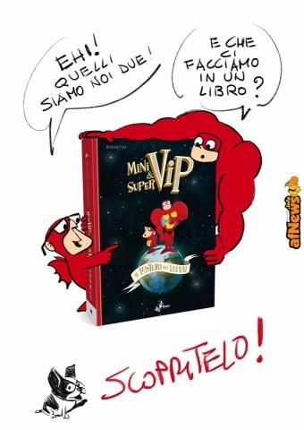 """I Vip tornano a """"salvare la giornata"""" nella graphic novel di Bozzetto & Panaccione!"""