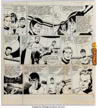 Neal Adams Studios and John Buscema Star Trek The Time Stealer