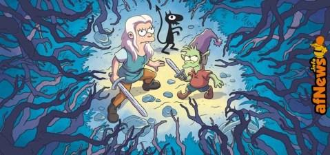 Disincanto diffuso il primo trailer della nuova serie di Matt Groening su Netflix