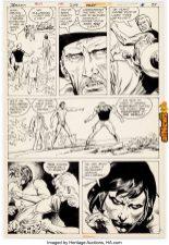 Joe Kubert and Rudy Florese Tarzan 249 Story Page 15-afnews-afnews