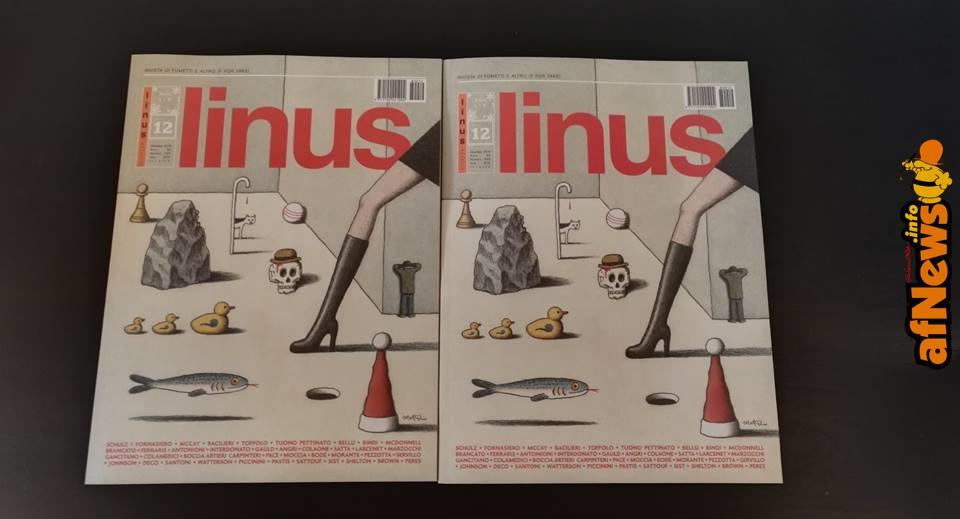 Linus il numero di Dicembre 2018 in edicola