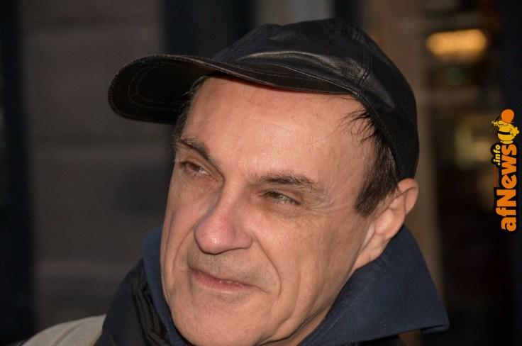 Luca Boschi in uno scatto di Gianfranco Goria