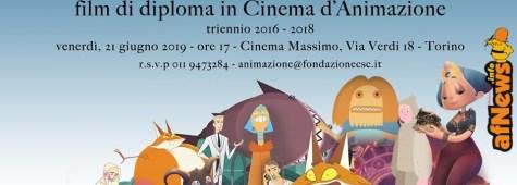 Il 21 giugno al Massimo di Torino immagini e musica con i corti di diploma del CSC Animazione
