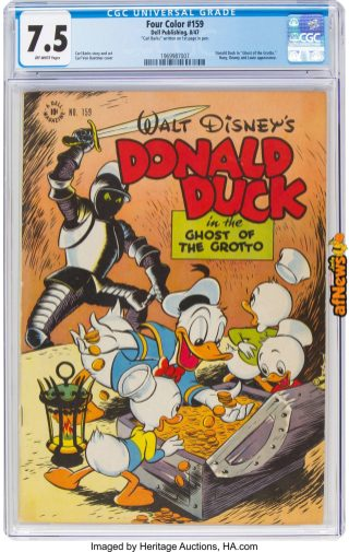 Four Color 22159 Donald Duck (Dell, 1947)-afnews