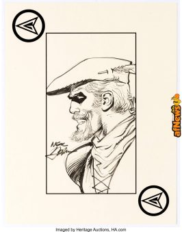 Neal Adams - Green Arrow Specialty Illustration-afnews