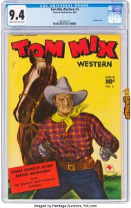 Tom Mix Western 593 (Fawcett Publications, 1948)-afnews