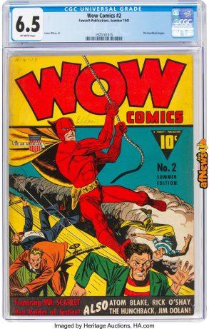 Wow Comics 212 (Fawcett Publications, 1941)-afnews