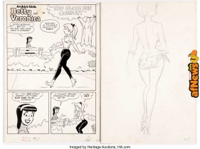 Dan DeCarlo and Rudy Lapick Archie's Girls Betty and Veronica-afnews