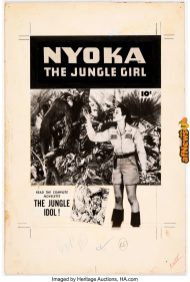 Nyoka the Jungle Girl 2764 Photostatic Cover (Fawcett Publ., 1952)-afnews